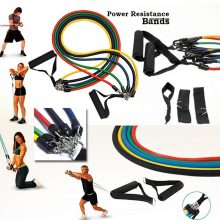 Power Resistance Bands Set – 5 in 1