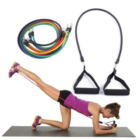 Power Resistance Bands Set - 5 in 1