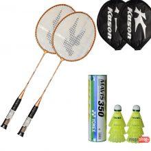 Kason Badminton Racket & Yonex Mavis 350