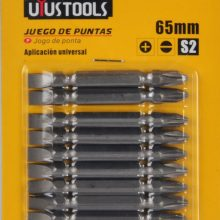 UYUSTOOLS 10 Pcs Double End Bits Set BTS65HL6