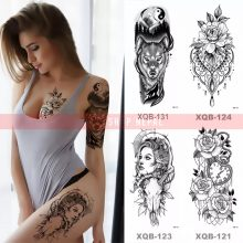 Temporary Tattoo – Waterproof Tattoos Sticker  For Chest Arm Fake Tattoo