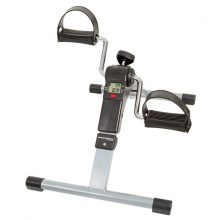 Mini Cycle – Folding Fitness Pedal Stationary Under Desk Indoor Exercise Bike for Arms Legs