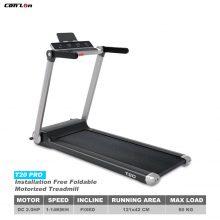 T20 Pro Installation-Free Foldable Motorized Treadmill