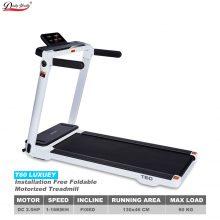 T60 Luxury Installation-Free Foldable Motorized Treadmill