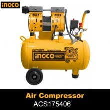 Ingco Silent And Oil Free Air Compressor ACS175406 – 40L