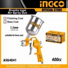 INGCO ASG4041 Spray Gun 180 Ml/min, 400cc Paint capacity | Suitable for base coat
